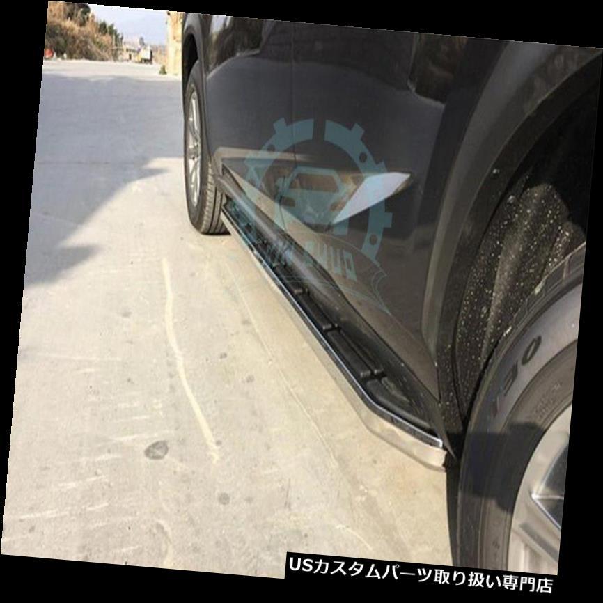 サイドステップ Lexus NX 200 NX 300H NX200T 2015-16用フィットランニングボードサイドステップナーフバー2 * For Lexus NX 200 NX 300H NX200T 2015-16 Fit Running Boards Side Step Nerf Bar 2*