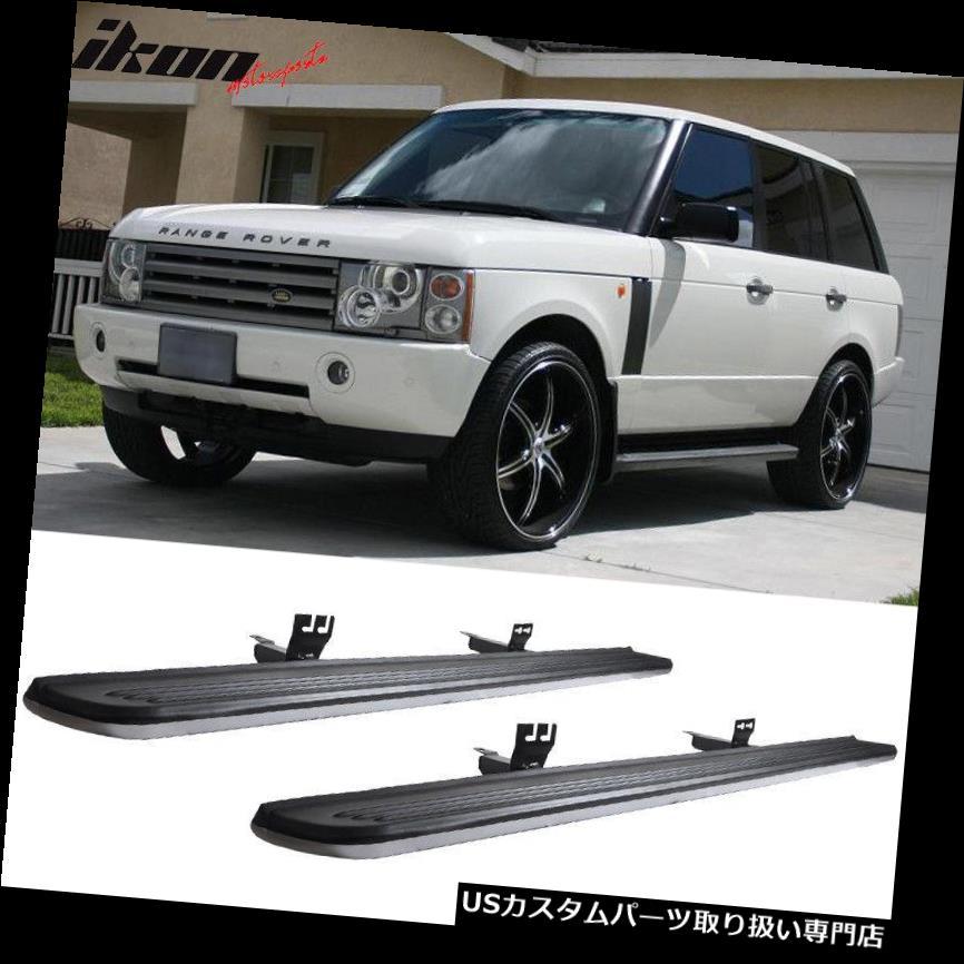 サイドステップ 03-12ランドローバーレンジローバーOEファクトリースタイルランニングボードサイドステップバー Fits 03-12 Land Rover Range Rover OE Factory Style Running Board Side Step Bar