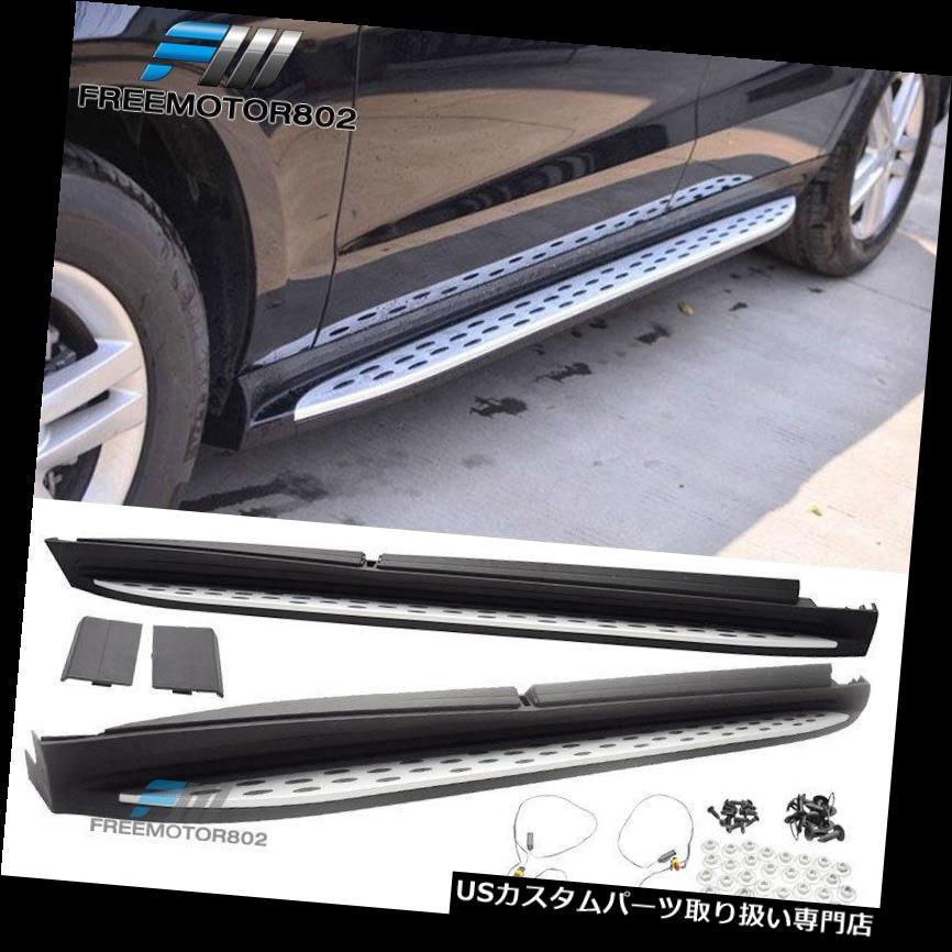 サイドステップ 13-19ベンツGL X166 GLS OEランニングボードLEDライトランプサイドステップナーフバー用 For 13-19 Benz GL X166 GLS OE Running Board LED Light Lamp Side Steps Nerf Bars