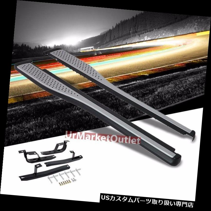 サイドステップ ホンダ12-16 CR-Vのための黒いOE様式アルミニウムランニングボードのボルトオンステップNerf棒 Black OE Style Aluminum Running Board Bolt-ON Step Nerf Bar For Honda 12-16 CR-V
