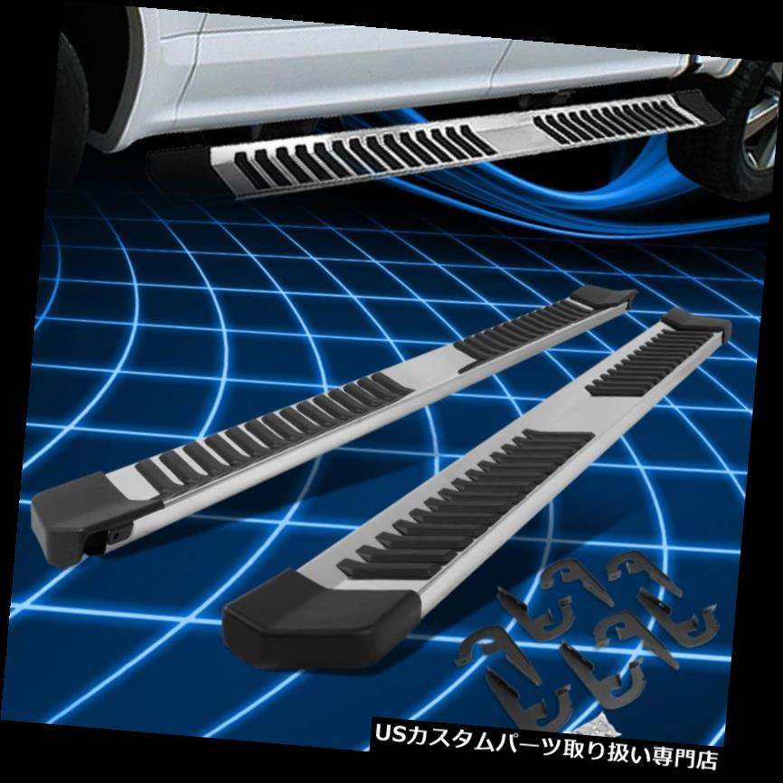 サイドステップ 04-14フォードF150クルーキャブステンレススチールランニングボードステップバー交換用 For 04-14 Ford F150 Crew Cab Stainless Steel Running Boards Step Bar Replacement
