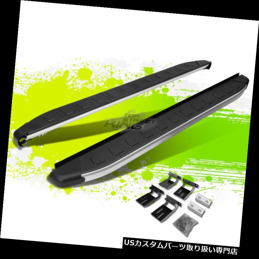 サイドステップ 5.75 '12-16ホンダCR-Vのための金属/黒いアルミニウムステップ近距離棒ランニングボード 5.75' METALLIC/BLACK ALUMINUM STEP NERF BAR RUNNING BOARD FOR 12-16 HONDA CR-V