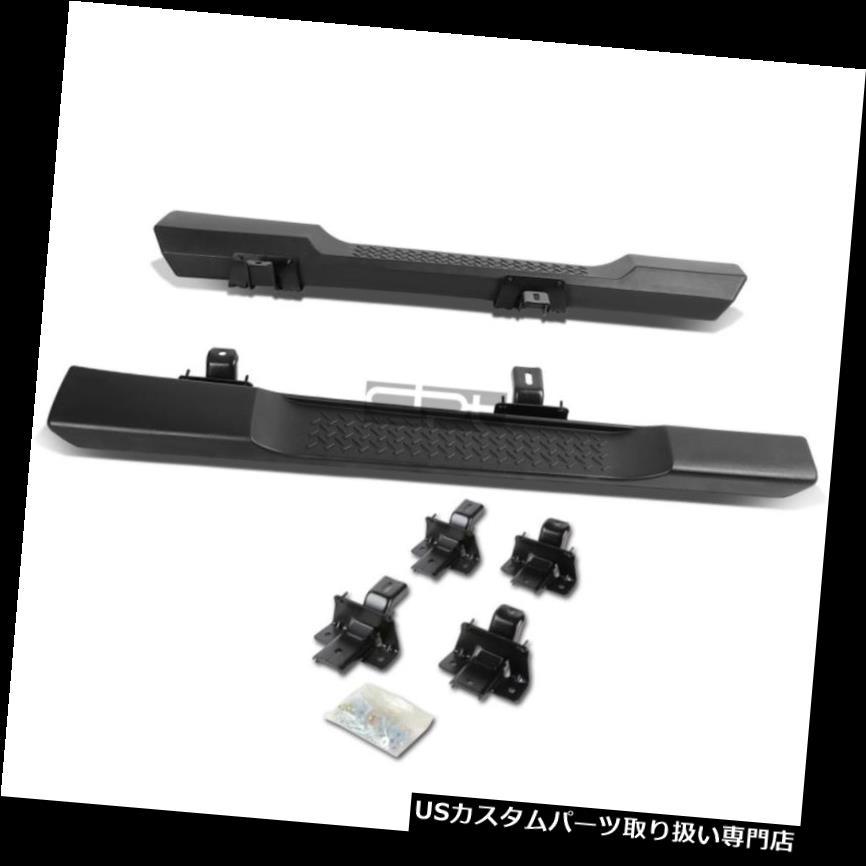 サイドステップ フィット07-16ラングラーJk 2DマットブラックOeスタイルサイドステップナーフバーランニングボード Fit 07-16 Wrangler Jk 2D Matte Black Oe Style Side Step Nerf Bar Running Board