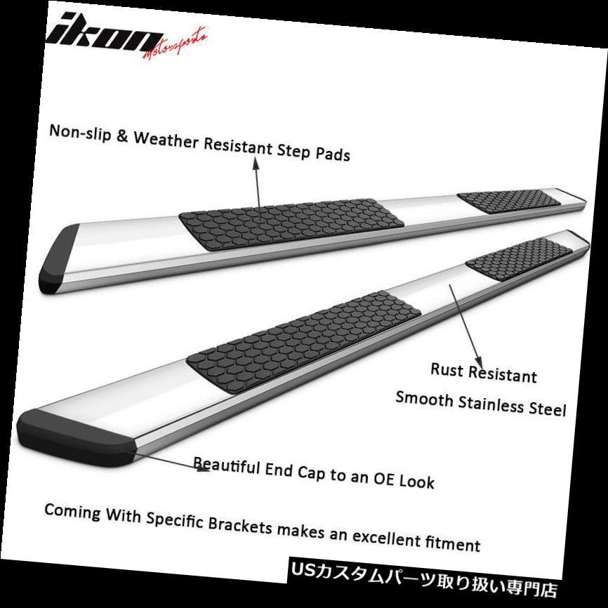 サイドステップ 19ダッジラムクワッドOEスタイルクローム5インチサイドステップナフバーランニングボードにフィット Fits 19 Dodge Ram Quad OE Style Chrome 5in Side Step Nerf Bars Running Boards