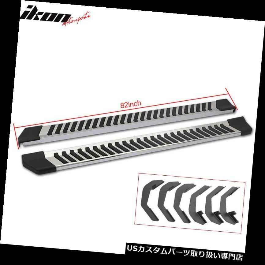 サイドステップ 99-16フォードF250 / 350/450/5  50HDスーパーデューティクルーキャブランニングボードNerf Bar SS Fits 99-16 Ford F250/350/450/550HD Superduty Crew Cab Running Boards Nerf Bar SS