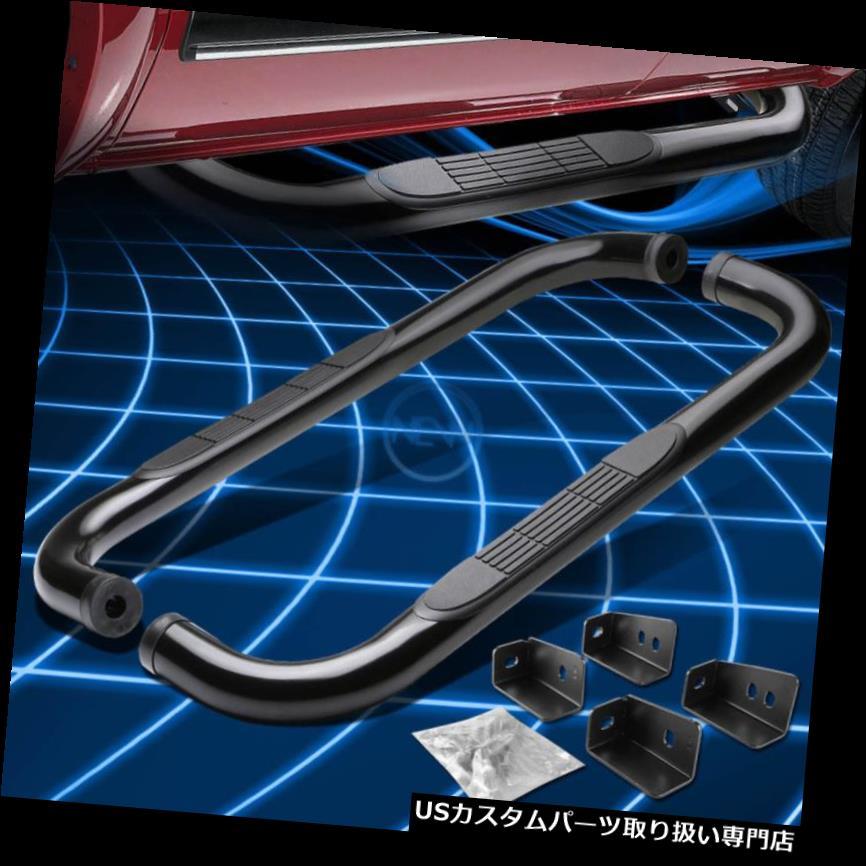 サイドステップ 99-13 SILVERADO / SIER用ブラックサイドステップバーランニングボード RA STANDARD CAB BLACK SIDE STEP BAR RUNNING BOARD FOR 99-13 SILVERADO/SIERRA STANDARD CAB