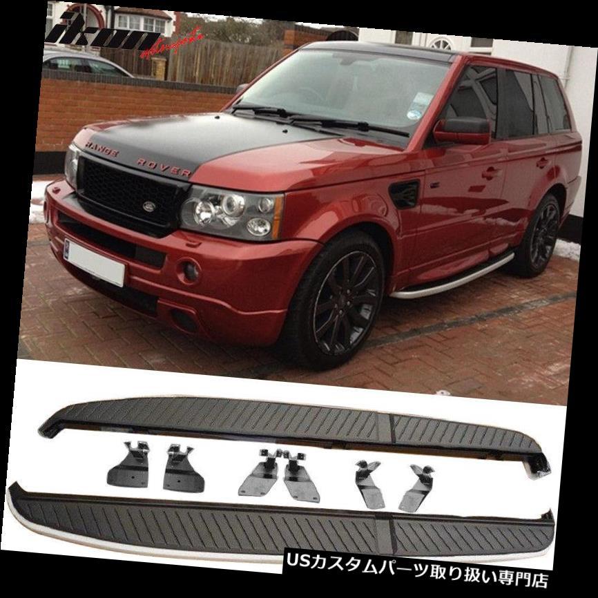 サイドステップ 06-13レンジローバースポーツOEファクトリースタイルランニングボードサイドステップナーフバーにフィット Fits 06-13 Range Rover Sport OE Factory Style Running Board Side Step Nerf Bar