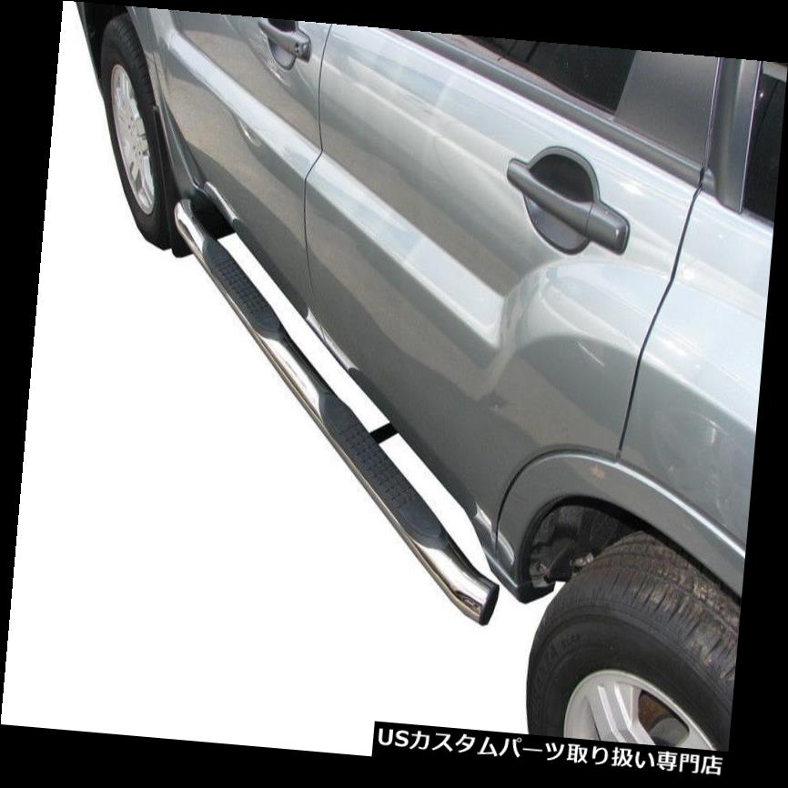 08-14 GMC Sierra 1500 2500 Ext Cab 3/' Stainless Chrome Step Bars Running Boards