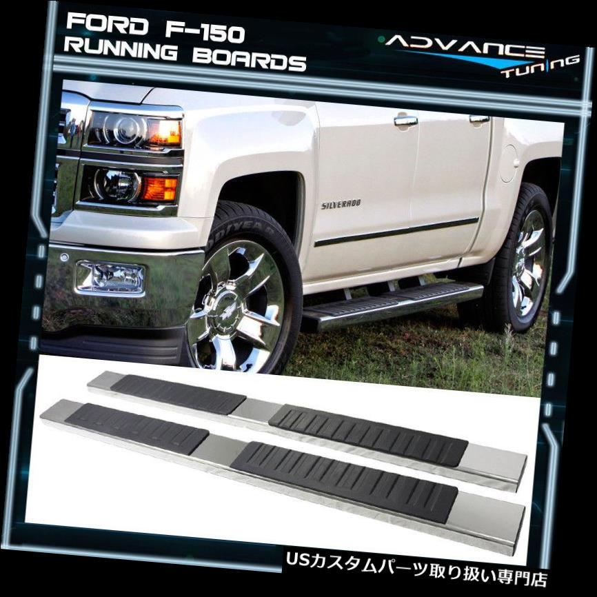 サイドステップ 07-19シボレーシルバラードシエラ1500 Ext Cab 5インチサイドステップバーランニングボード用 For 07-19 Chevy Silverado Sierra 1500 Ext Cab 5inch Side Step Bar Running Boards