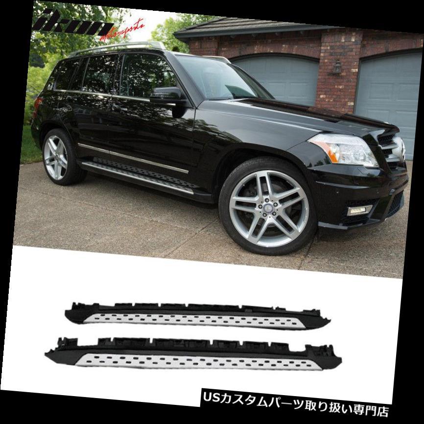 サイドステップ 10-15メルセデスX204 GLK350 OEファクトリースタイルランニングボードサイドステップバーにフィット Fits 10-15 Mercedes X204 GLK350 OE Factory Style Running Board Side Step Bar