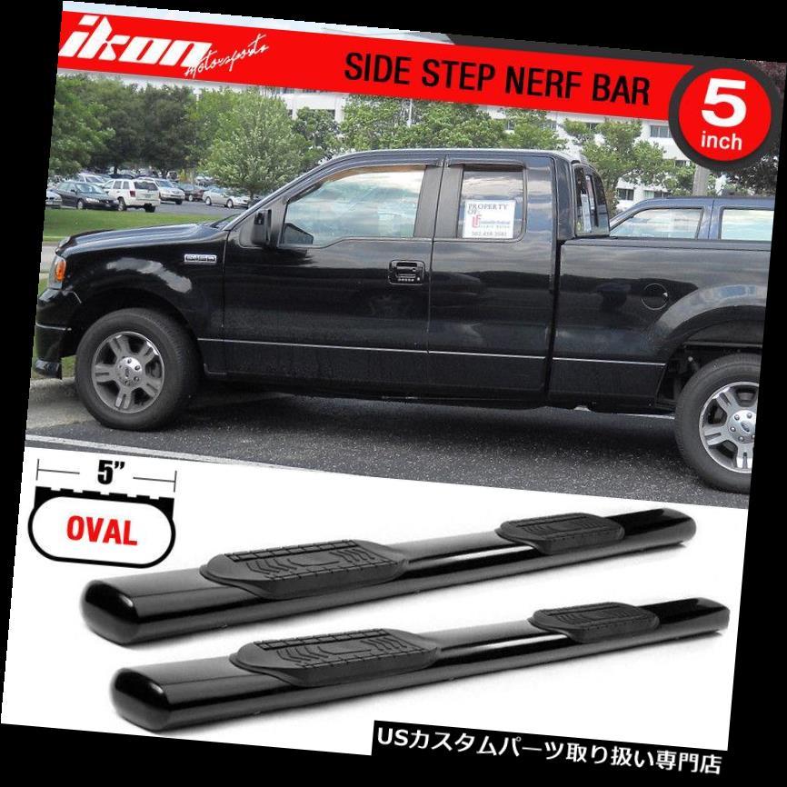 "2009-2014 FORD F-150//F150 EXTENDED// SUPER CAB 3/"" SIDE STEP NERF BAR BLACK"