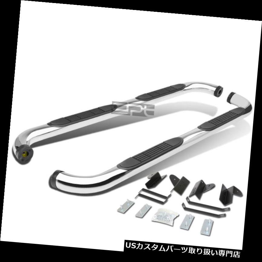 サイドステップ 01-03フォードF150クルー/スーパースクリューキャブクローム3