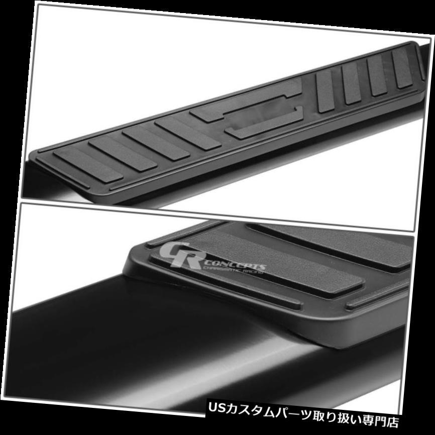 """FOR 12-18 NISSAN PATHFINDER BLACK COATED CARBON STEEL 3/"""" SIDE STEP NERF BAR KIT"""