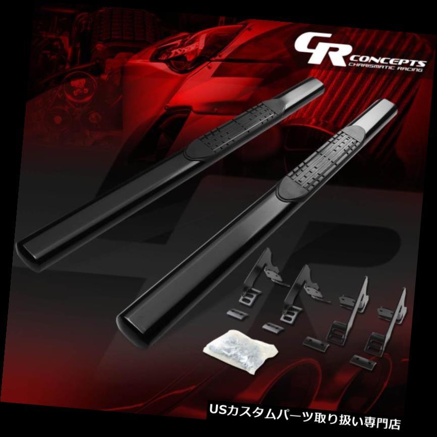 サイドステップ 4 - 12年4月12日コロラド/キャニヨン用オーバルBLK REG / STANDARD CABサイドステップランニングボード N 4