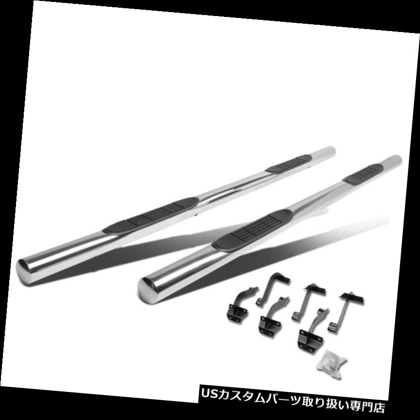 サイドステップ 15-18フォードF-150 /スーパーデューティクルーキャブクローム3
