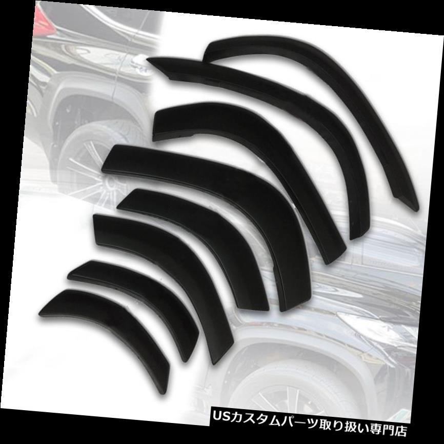 オーバーフェンダー 三菱パジェロスポーツ用フェンダーフレアフレアーホイールマットマットブラック15 16 17 FENDER FLARES FLARE WHEEL MATTE MATT BLACK FOR MITSUBISHI PAJERO SPORT 15 16 17