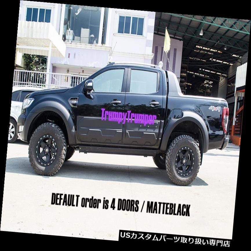 MATTE MATT BLACK TAILGATE TAIL GATE COVER FIT FOR FORD RANGER MK2 PX2 2015-2017