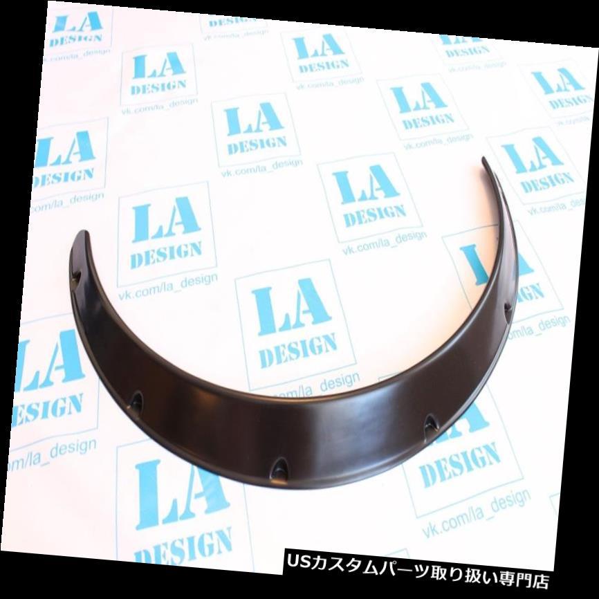 オーバーフェンダー ユニバーサルJDMフェンダーフレアホイールアーチ2インチ(50mm)2本ワイドセットABSプラスチック Universal JDM Fender Flares Wheel Arch 2 inch (50mm) 2pcs Wide set ABS Plastic