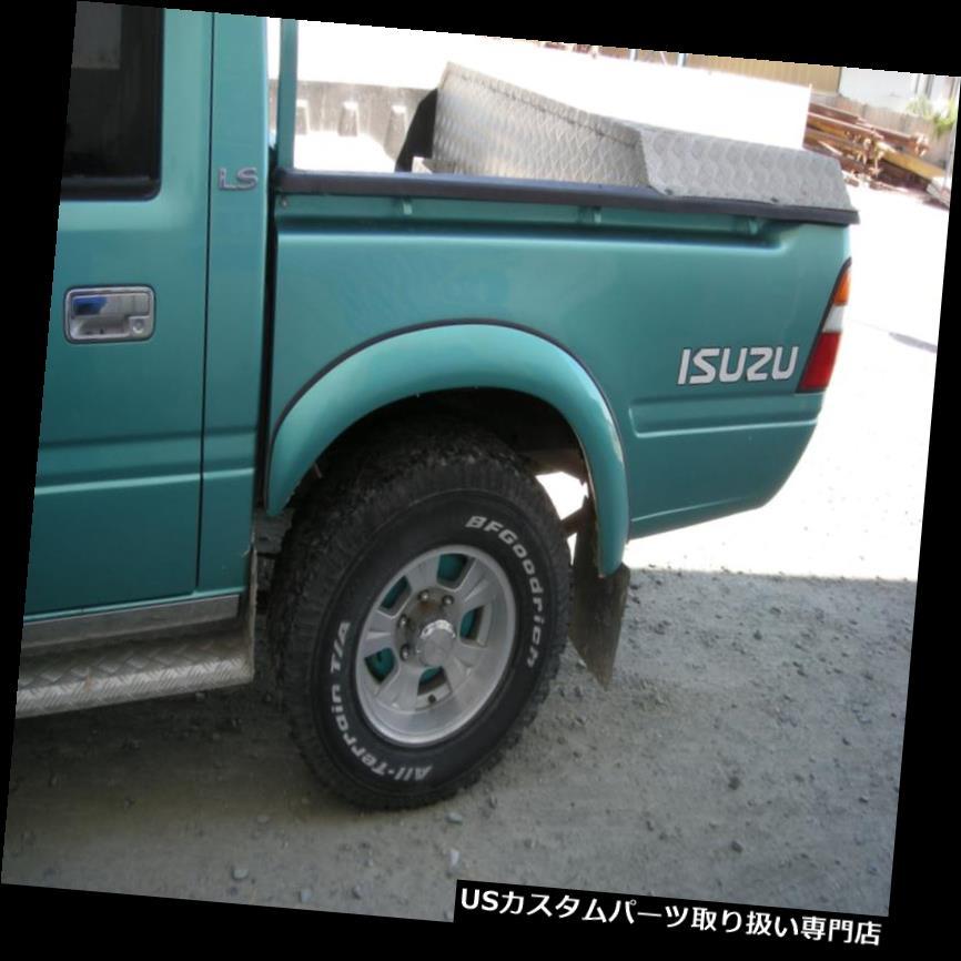 オーバーフェンダー ISUZU KB CHEVROLET LUV VAUXHALL BRAVA用リアフェンダーフレアホイールアーチ Rear fender flares wheel arches for ISUZU KB CHEVROLET LUV VAUXHALL BRAVA