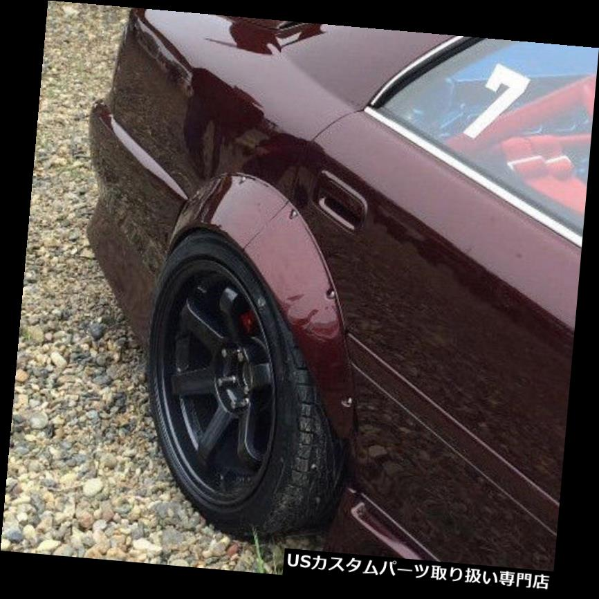 オーバーフェンダー DPCUSTOMS JDMユニバーサルフェンダーフレア2PC + 90mm DPCUSTOMS JDM Universal Fender Flares 2PCs +90mm