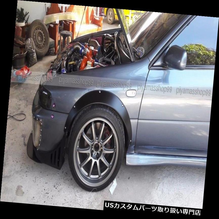 オーバーフェンダー スバルインプレッサGC8 / JDM用の新しいフェンダーフレアホイールアーチプレミアムシートメタル New Fender Flares Wheel arch premium sheet metal for Subaru Impreza GC8 / JDM