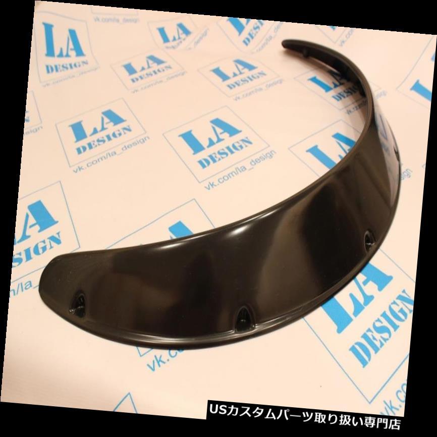 オーバーフェンダー ユニバーサルJDMフェンダーフレアホイールアーチ2.7インチ(70mm)2本ワイドセットABSプラスチック Universal JDM Fender Flares Wheel Arch 2.7 inch (70mm) 2pcs Wide set ABS Plastic