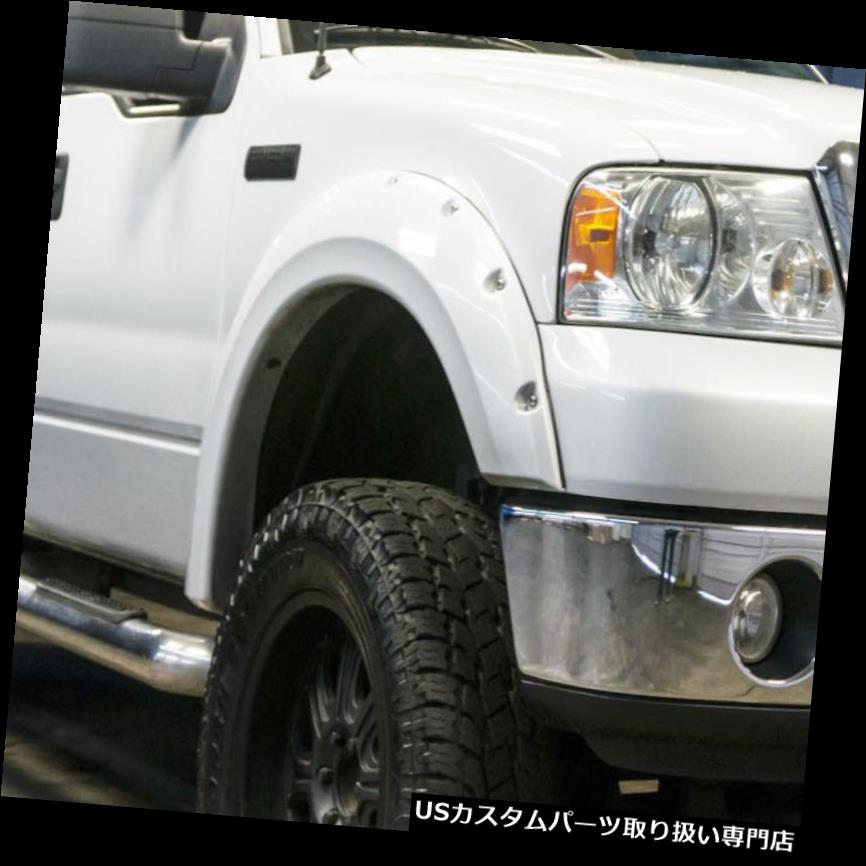 オーバーフェンダー RDJトラックPRO-OFFROAD FORD F150 2004-2008ボルトオンスタイルフェンダーフレア RDJ TRUCKS PRO-OFFROAD FORD F150 2004-2008 BOLT-ON STYLE FENDER FLARES