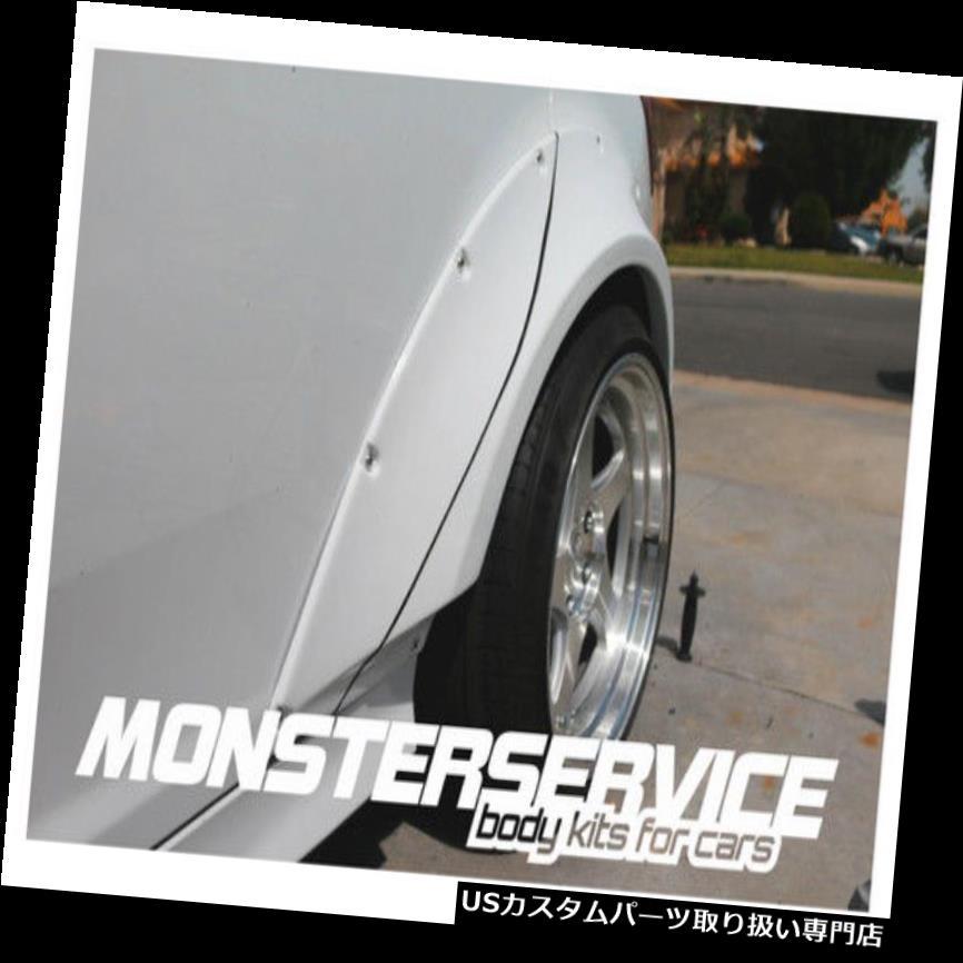 オーバーフェンダー ユニバーサルフェンダーフレア Monsterservic e 45 mm Absプラスチック Universal fender flares Monsterservice 45 mm Abs plastic