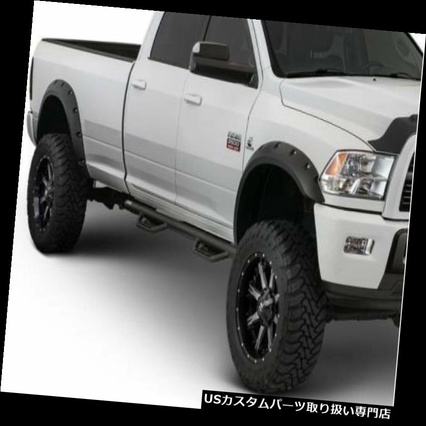 オーバーフェンダー Bushwacker Black Extended Coverage Fender Flares 2010-2016ダッジラム2500 3500 Bushwacker Black Extended Coverage Fender Flares 2010-2016 Dodge Ram 2500 3500