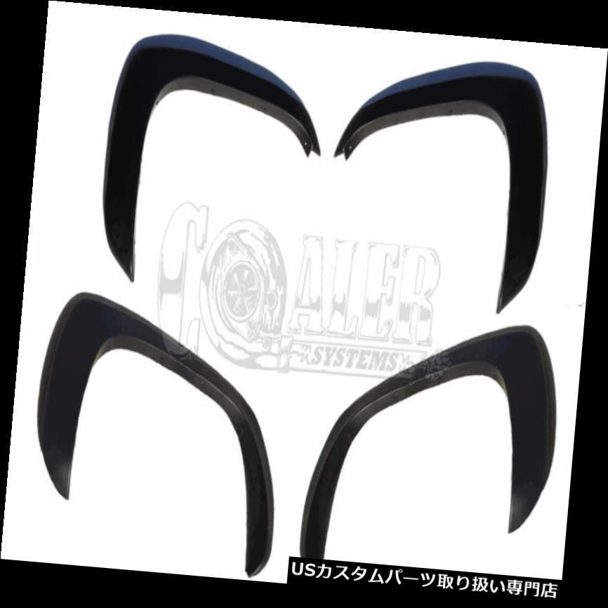 オーバーフェンダー 1999-2006 GMC SIERRA 1500 2500 3500 OEのスタイルブラックマットのためのフェンダーフレア FENDER FLARES FOR 1999-2006 GMC SIERRA 1500 2500 3500 OE STYLE BLACK MATTE
