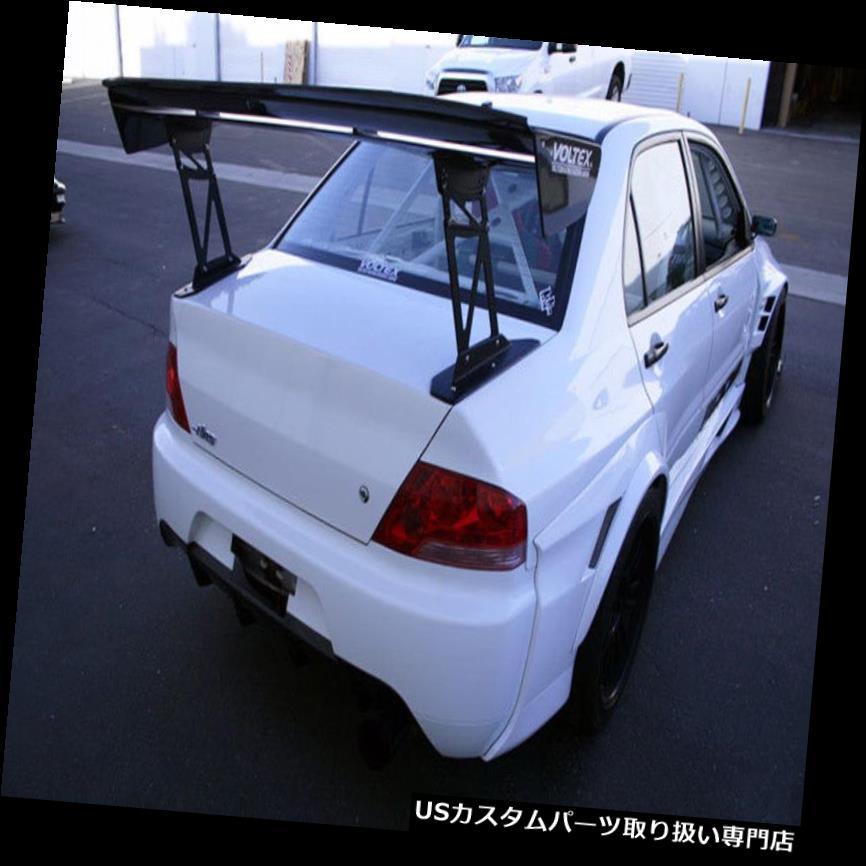 オーバーフェンダー 未塗装三菱エボリューション8 9 FRP繊維のフェンダーアーチフレアの後ろ Rear Over Fender Arch Flares For Mitsubishi Evolution 8 9 FRP Fiber Unpainted