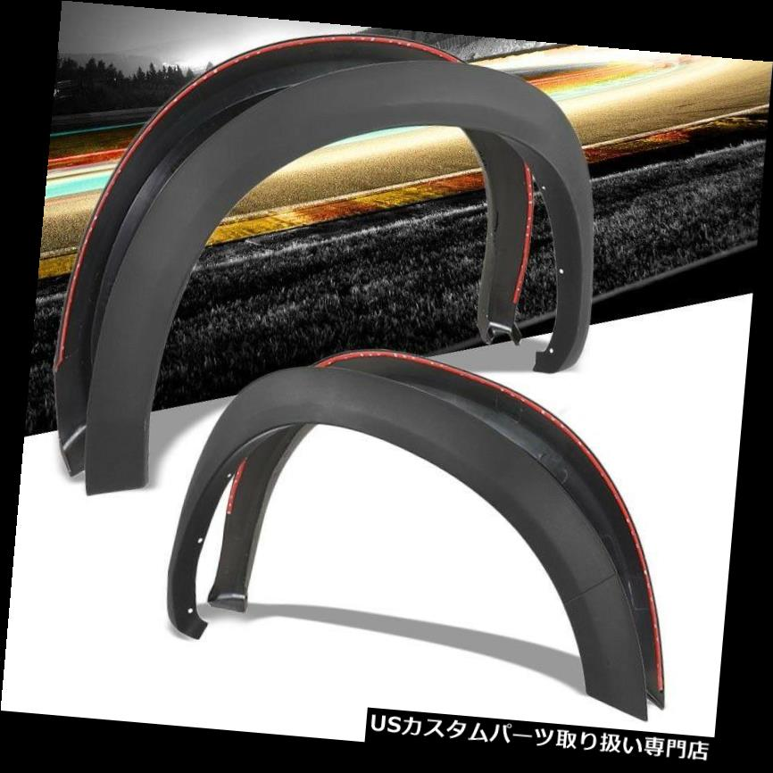 オーバーフェンダー 4ピースマットブラックOEスタイルホイールフェンダーフレアガードカバー10-18 Ram 2500 3500 4PC Matte Black OE Style Wheel Fender Flares Guard Cover For 10-18 Ram 2500 3500