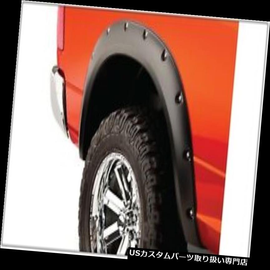 オーバーフェンダー Bushwacker 50038-02ポケットスタイルフェンダーフレア Bushwacker 50038-02 Pocket Style Fender Flares