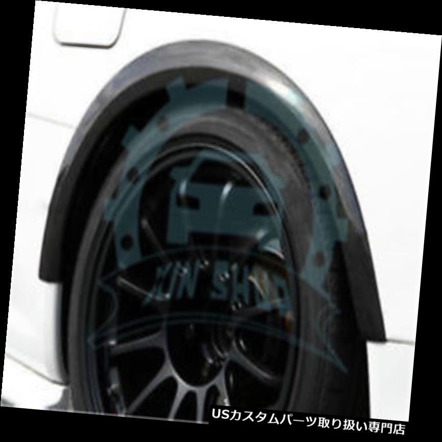 オーバーフェンダー 日産のスカイラインR34 GTR用カーボンフロントリアフェンダーフレアプロテクター Carbon Front Rear Fender Flares Protector For Nissan Skyline R34 GTR