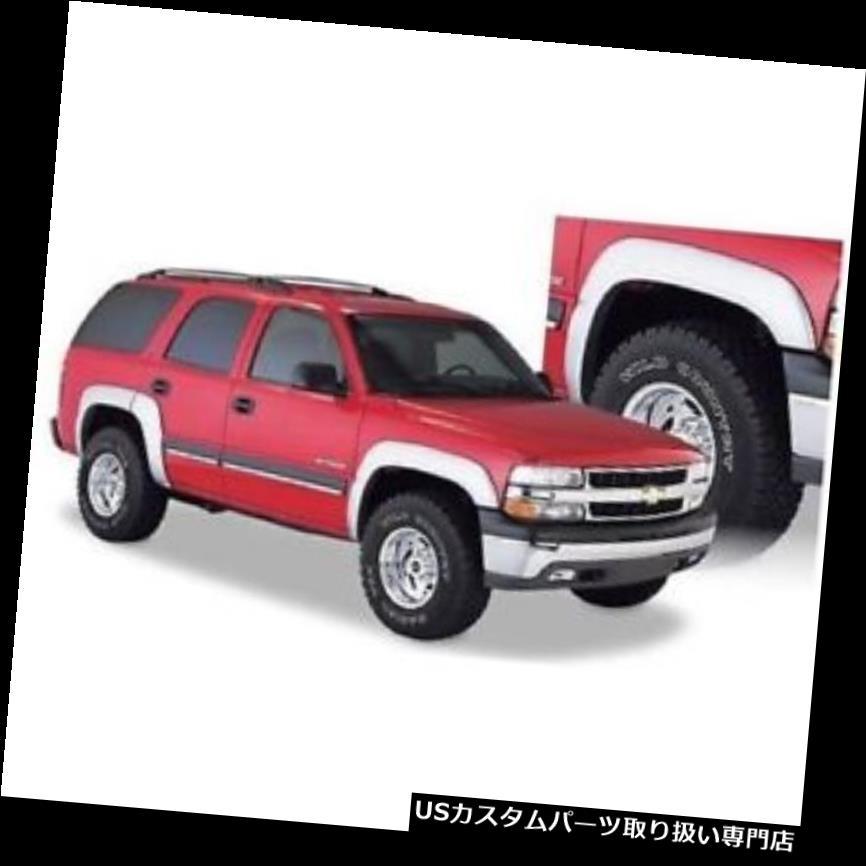 オーバーフェンダー Bushwacker 40911-02 Extend-A-Fende  rフレア、2000-06用4個セットシボレータホ Bushwacker 40911-02 Extend-A-Fender Flares, Set of 4 For 2000-06 Chevrolet Tahoe
