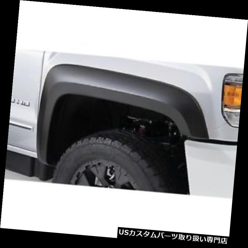 オーバーフェンダー Bushwacker 40131-02 Front Extend-A-Fende  r Flares 2015-2017 GM Sierra HD Bushwacker 40131-02 Front Extend-A-Fender Flares For 2015-2017 GM Sierra HD
