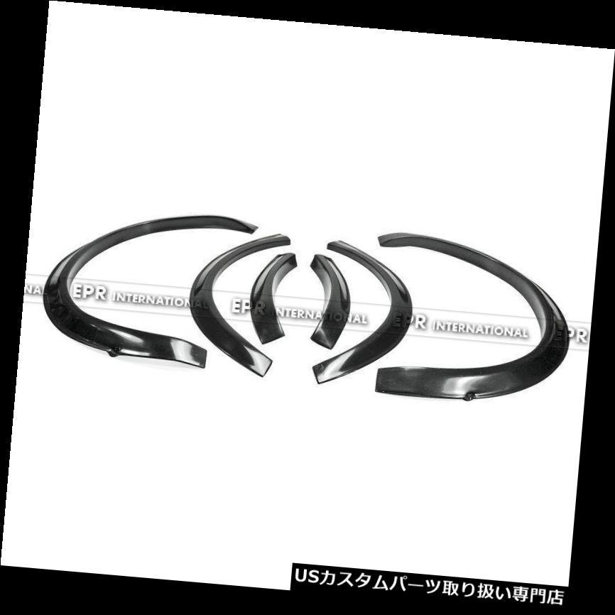 オーバーフェンダー ハイエース200系FRPワイドボディキットフェンダーフレア(前面+ 20mm、背面+ 25mm) For Hiace 200 series FRP Wide body kit Fender Flares (Front +20mm, Rear +25mm)