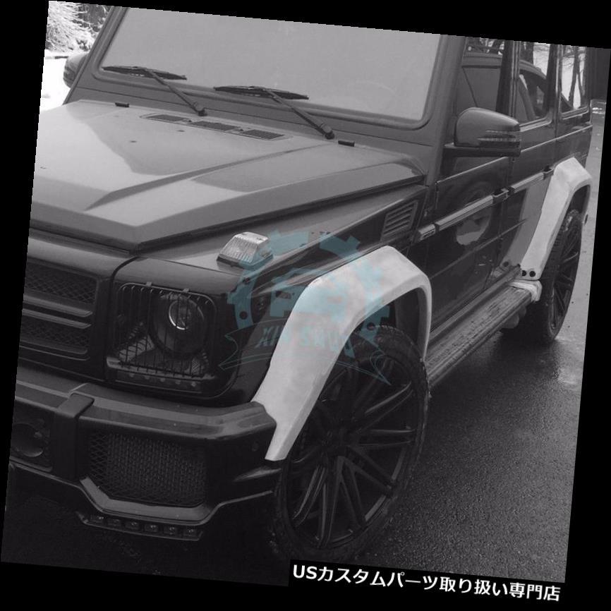オーバーフェンダー メルセデスベンツW463 GクラスG63用自動フェンダーフレアズファントムデザイン(オリジナル) Auto FENDER FLARES Phantom Design For Mercedes-Benz W463 G-class G63 (original)