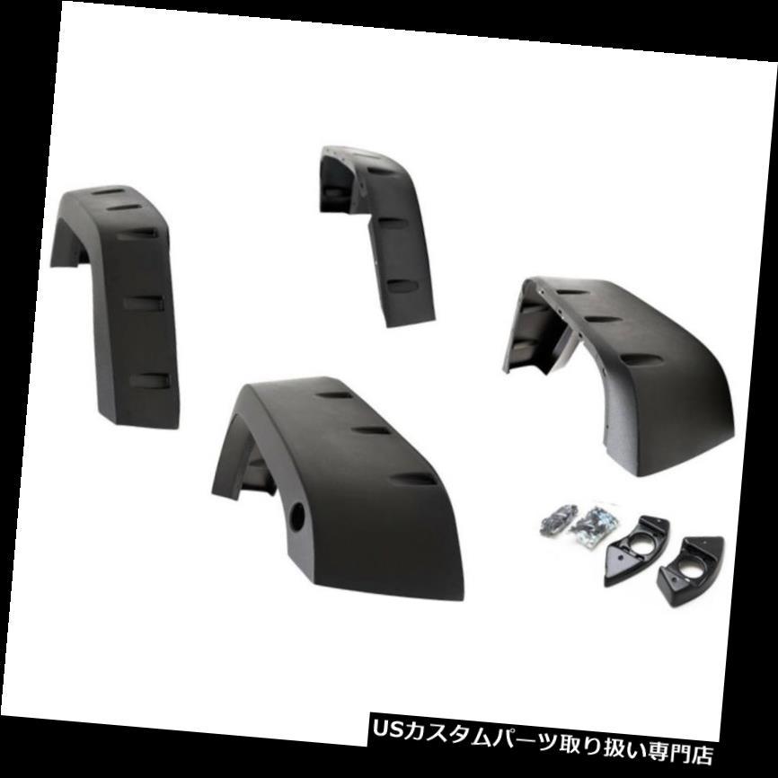 オーバーフェンダー パラマウントオートモーティブ17194リベットスタイルフェンダーフレアフィット07-16ラングラー(JK) Paramount Automotive 17194 Rivet Style Fender Flares Fits 07-16 Wrangler (JK)