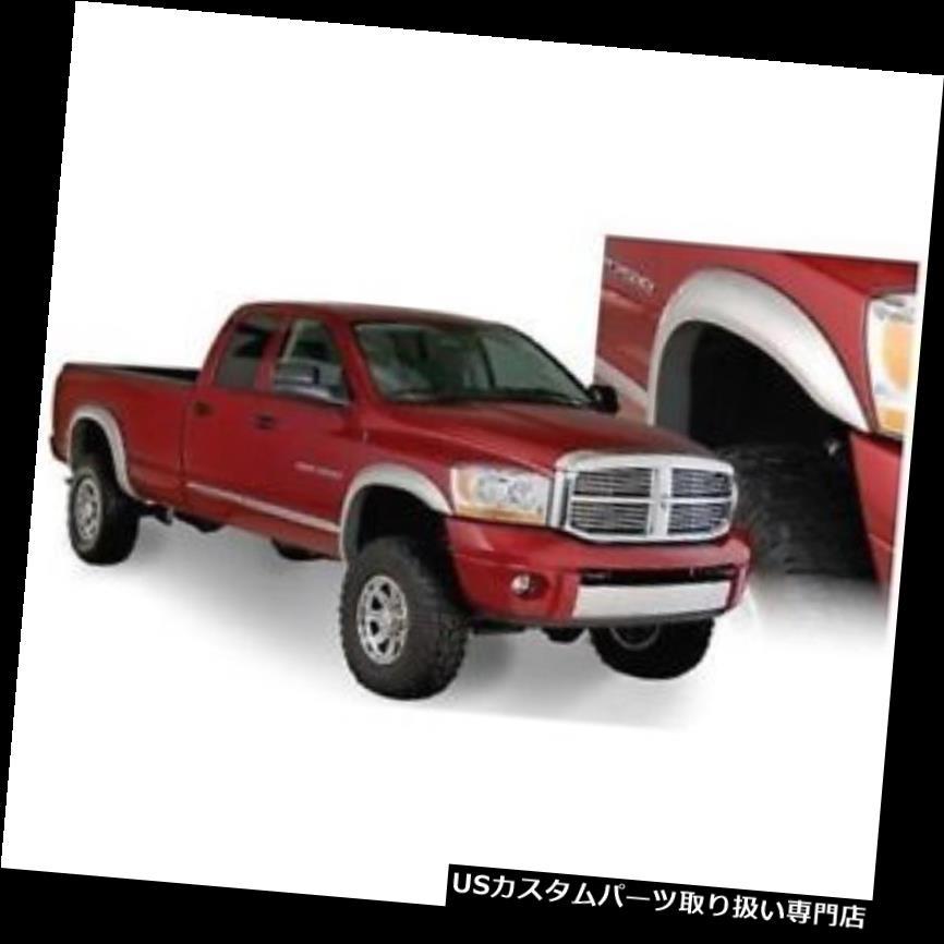 オーバーフェンダー Bushwacker 50914-02 Extend-A-Fende  rフレア、2009?17年用4本セットDodge Ram 1500 Bushwacker 50914-02 Extend-A-Fender Flares, Set of 4 For 2009-17 Dodge Ram 1500
