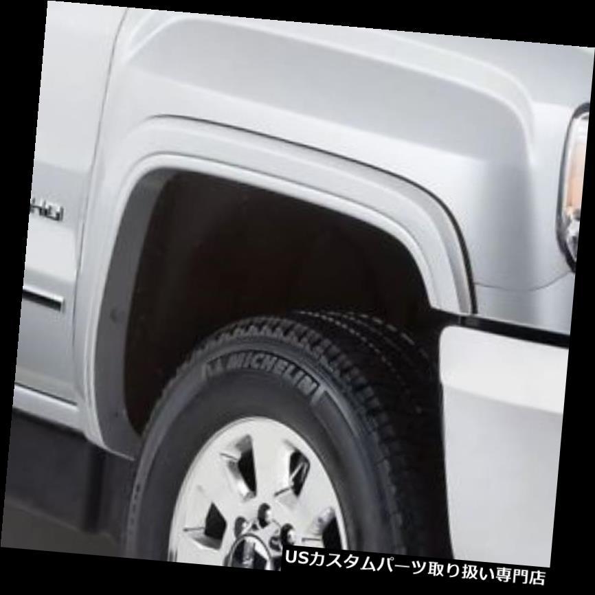 オーバーフェンダー Bushwacker 40965-02 - フロントとリアのOEスタイルフェンダーフレア Bushwacker 40965-02 - Front and Rear OE Style Fender Flares