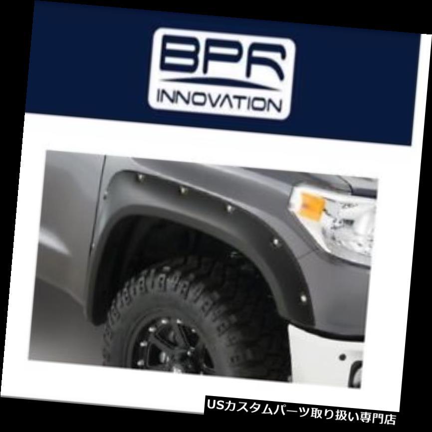 オーバーフェンダー 14-18トヨタツンドラポケットスタイルフロントフェンダーフレア用ブッシュワッカー Bushwacker For 14-18 Toyota Tundra Pocket Style Front Fender Flares