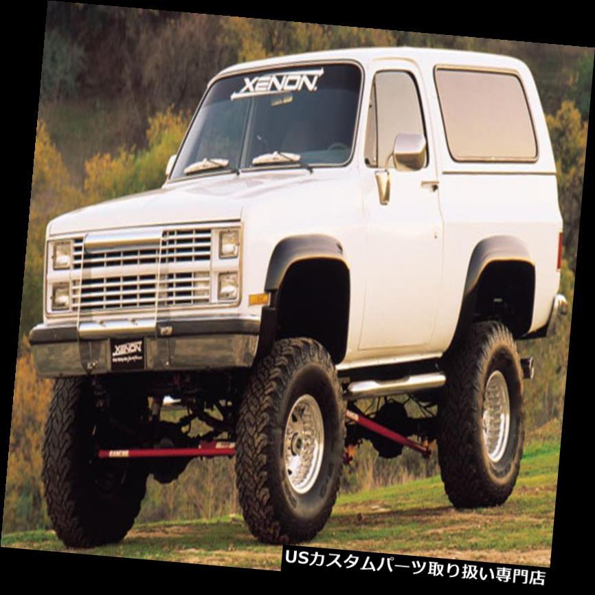 オーバーフェンダー 81-91ブレザージミー郊外81-87 CKトラックキセノンウレタンフェンダーフレア4ピース8400 81-91 Blazer Jimmy Suburban 81-87 CK Truck Xenon Urethane Fender Flares 4pc 8400