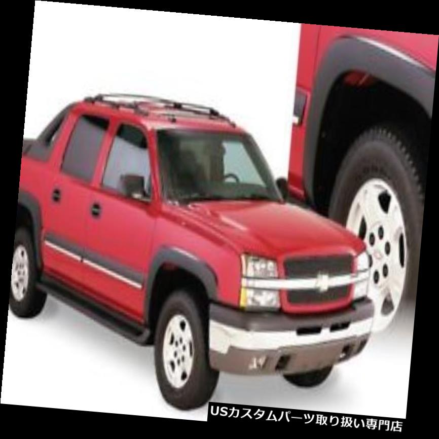 オーバーフェンダー Bushwacker 40920-02 - OEスタイルのフロントとリアのフェンダーフレア Bushwacker 40920-02 - OE Style Front and Rear Fender Flares