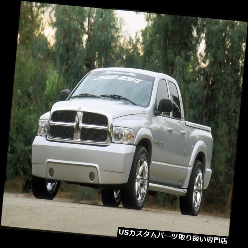 オーバーフェンダー 02-08ダッジラムトラックキセノンウレタンフェンダーフレア1.30インチ4ピースキットNEW 8720 02-08 Dodge Ram Truck Xenon Urethane Fender Flares 1.30 inch 4pc Kit NEW 8720
