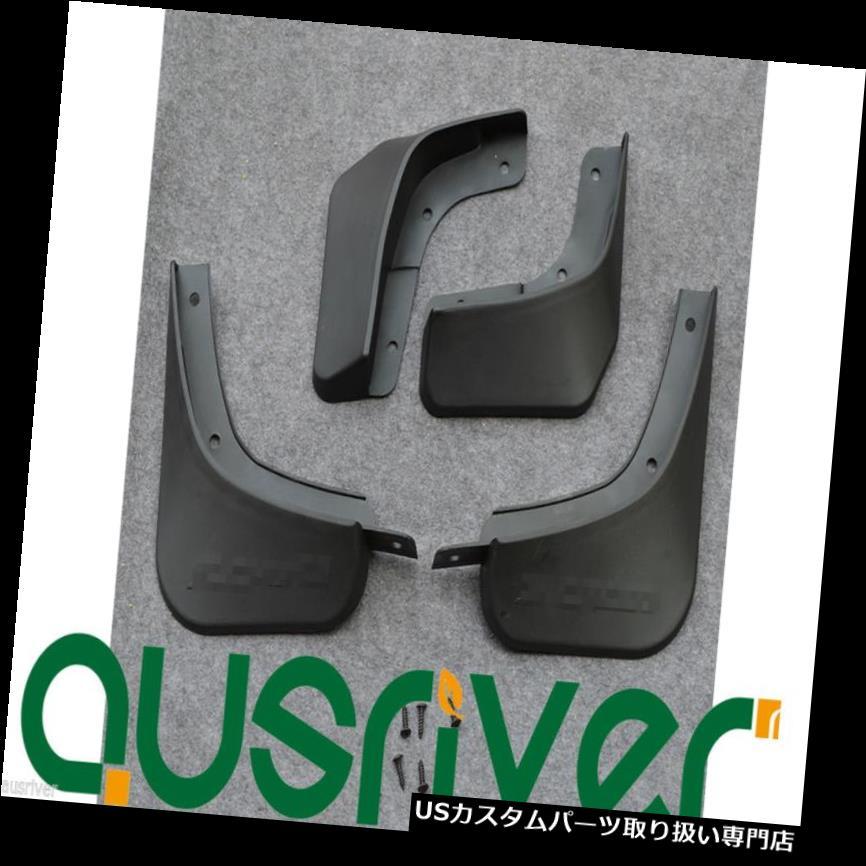 オーバーフェンダー 鈴木Sクロスのための自動車4本のゴム製保護ホイールフェンダーのフレア Auto Car 4Pcs Rubber Protective Wheels Fenders Flares For Suzuki S- Cross