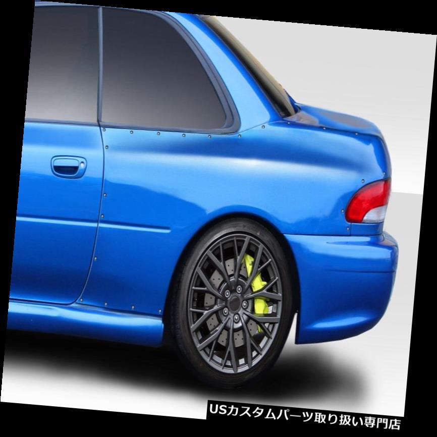 オーバーフェンダー 93-01スバルインプレッサ22B Duraflexリアフェンダーフレアを見て! 114065 93-01 Subaru Impreza 22B Look Duraflex Rear Fender Flares!!! 114065
