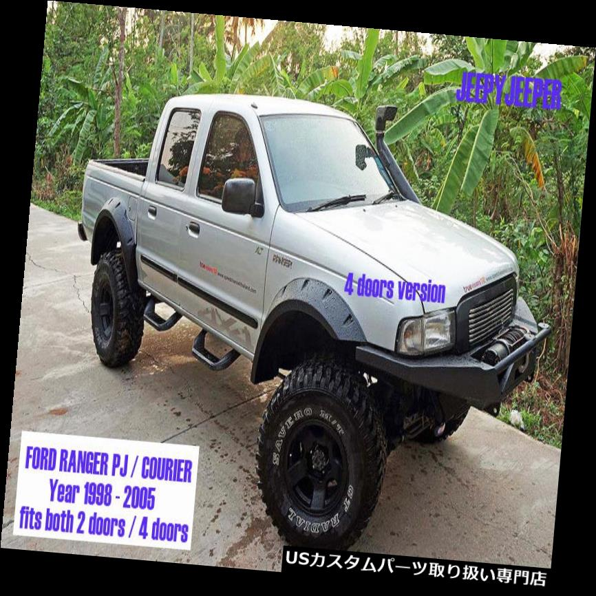 オーバーフェンダー JオフロードフェンダーフレアホイールアーチFOR FOR COURIER RANGER PJピックアップ1998-2005 J OFFROAD FENDER FLARES WHEEL ARCH FOR FORD COURIER RANGER PJ PICKUP 1998-2005