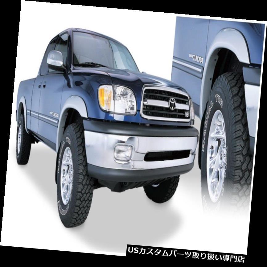 オーバーフェンダー 00-02 Tundra Bushwackerに適合する30902-02 Extend-A-Fende  rフレア Fits 00-02 Tundra Bushwacker 30902-02 Extend-A-Fender Flares