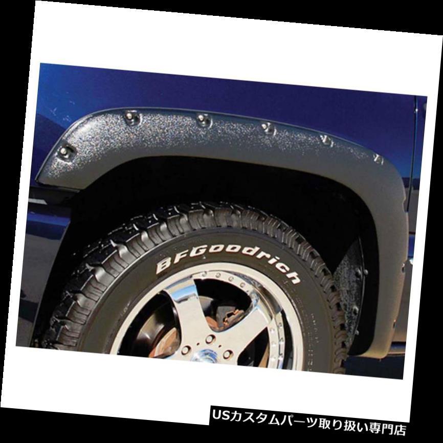 オーバーフェンダー 1999 - 2006年GMCシエラ用プレミアムFX 4個織り目加工フェンダーフレア Premium FX 4pc Textured Fender Flares for 1999-2006 GMC Sierra